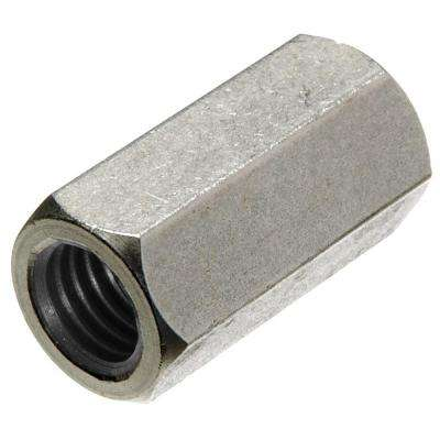 5/8 in. x 11 in. Stainless-Steel Coupling Nut (2-Pack)