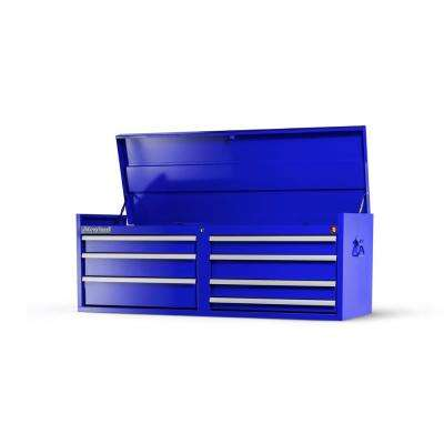 Workshop Series 54 in. 7-Drawer Top Chest, Blue