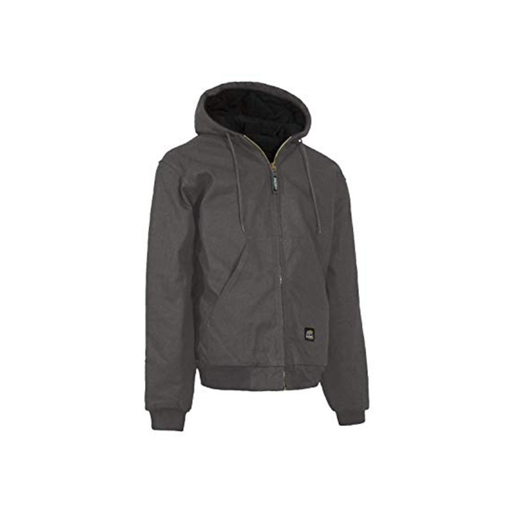 Men's Small Regular Slate 100% Cotton Original Hooded Jacket