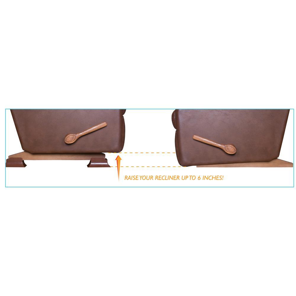 Admirable Stander Recliner Risers Set Of 4 Inzonedesignstudio Interior Chair Design Inzonedesignstudiocom