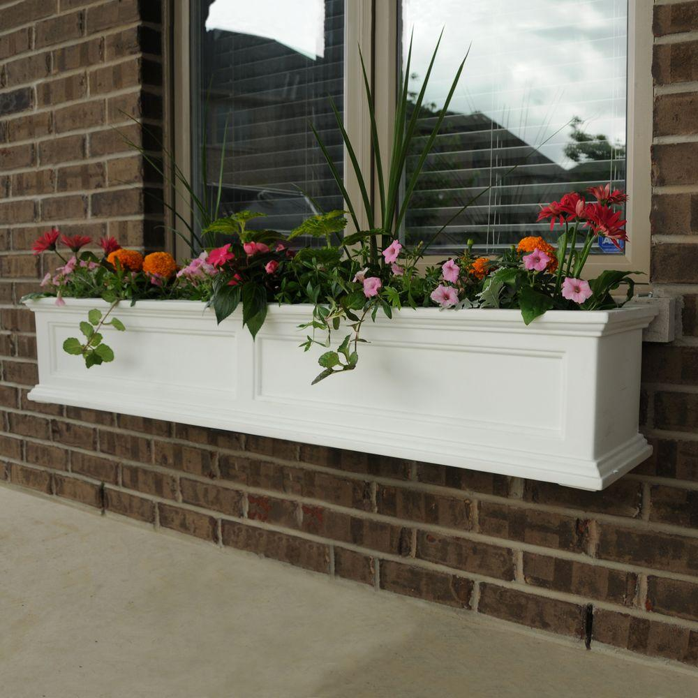 to home for planter an flowers l window the box frameadd your lattice outdoor copper with way display elegant frame