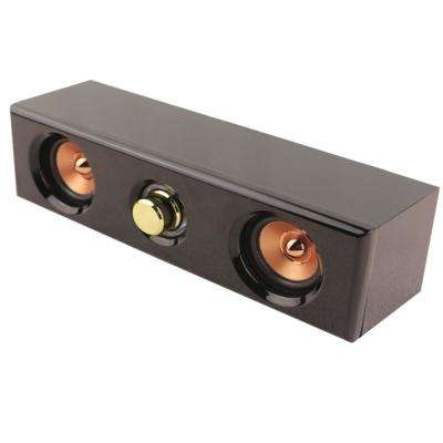 11.5 in. 5-Watt Mini Sound Bar in Black