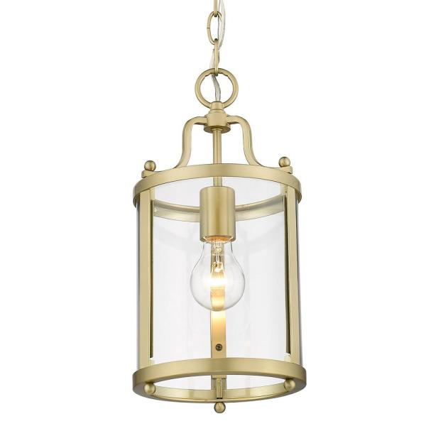 Payton 1-Light Brushed Champagne Bronze Mini Pendant