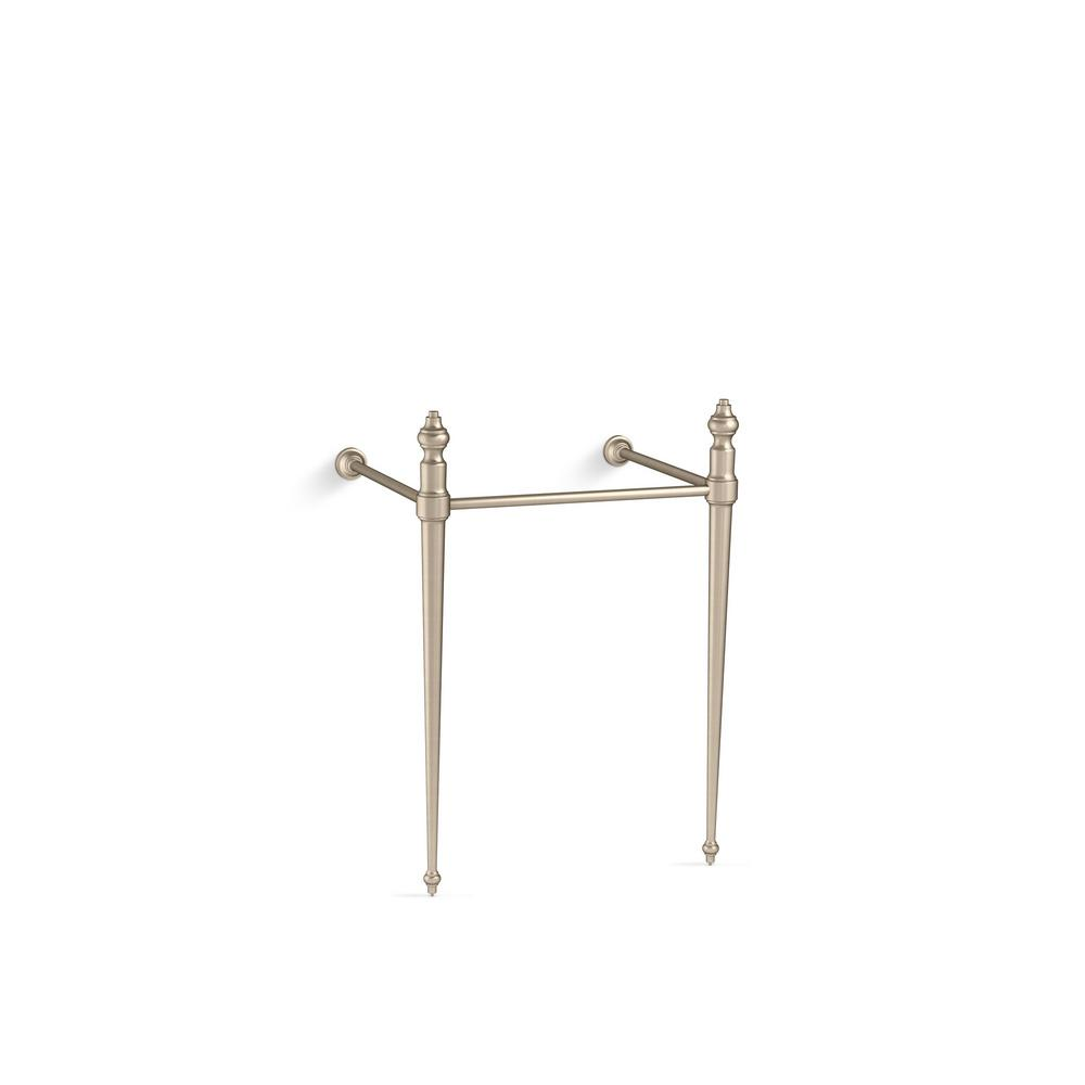 Incroyable KOHLER Memoirs Console Table Legs In Vibrant Brushed Bronze