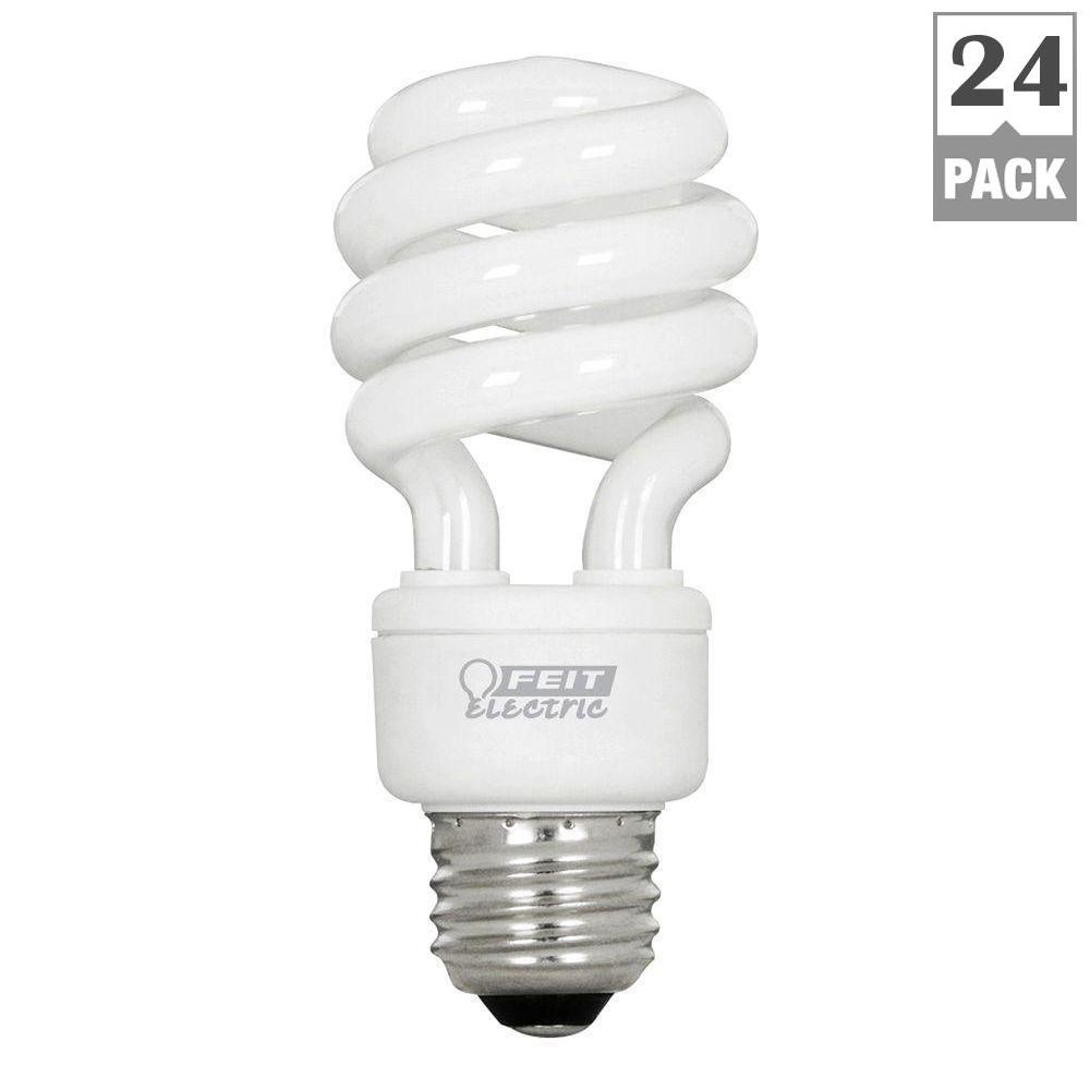 Feit electric 60w equivalent soft white 2700k spiral cfl light feit electric 60w equivalent soft white 2700k spiral cfl light bulb case of arubaitofo Image collections