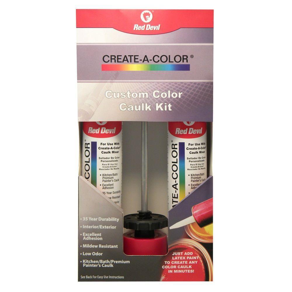 Red Devil 9.4 oz. Create a Color Caulk Kit (2-Tubes)