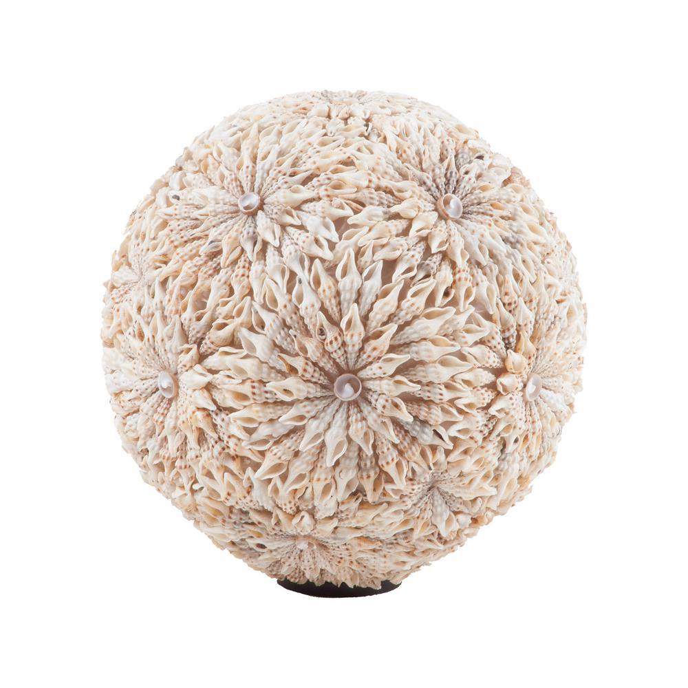 Starfish Ball Natural Shell Sculpture