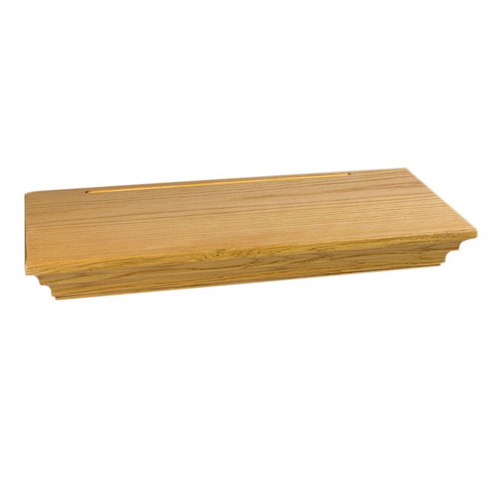 Wallscapes Woodridge 8 in. x 1-3/4 in. Floating Shelf Kit (Price ...