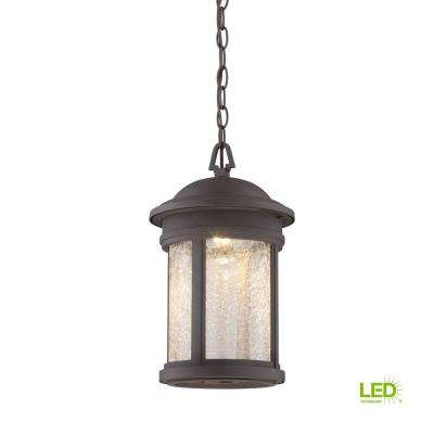 Prado Oil Rubbed Bronze Outdoor LED Hanging Lantern