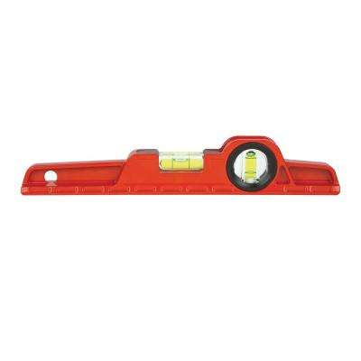 10 in. Magnetic Cast Toolbox Level