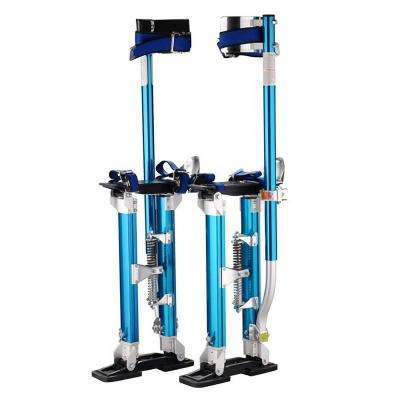 24 in. to 40 in. Blue Professional Drywall Stilts