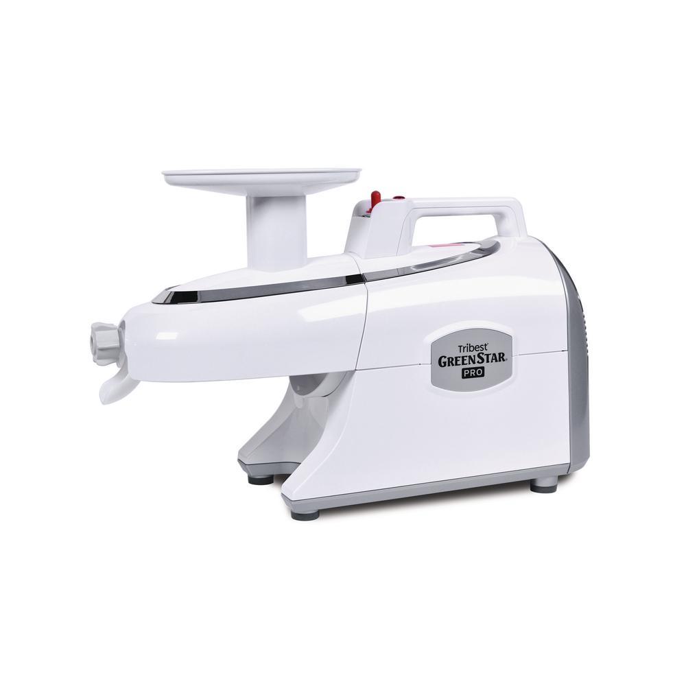 Greenstar Pro Twin Gear White Slow Masticating Juicer