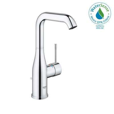 Essence New Single Hole Single-Handle 1.2 GPM High-Arc Bathroom Faucet in StarLight Chrome