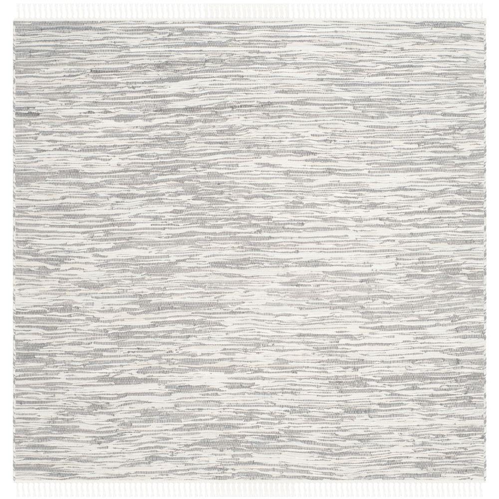 Safavieh Montauk Silver 4 ft. x 4 ft. Square Area Rug