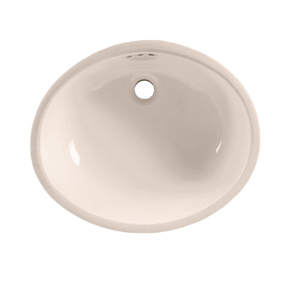 American Standard Ovalyn Undermount Bathroom Sink In Bone