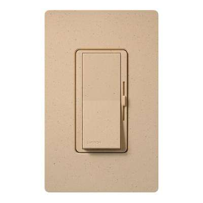 Diva C.L Dimmer Switch for Dimmable LED, Halogen and Incandescent Bulbs, Single-Pole or 3-Way, Desert Stone