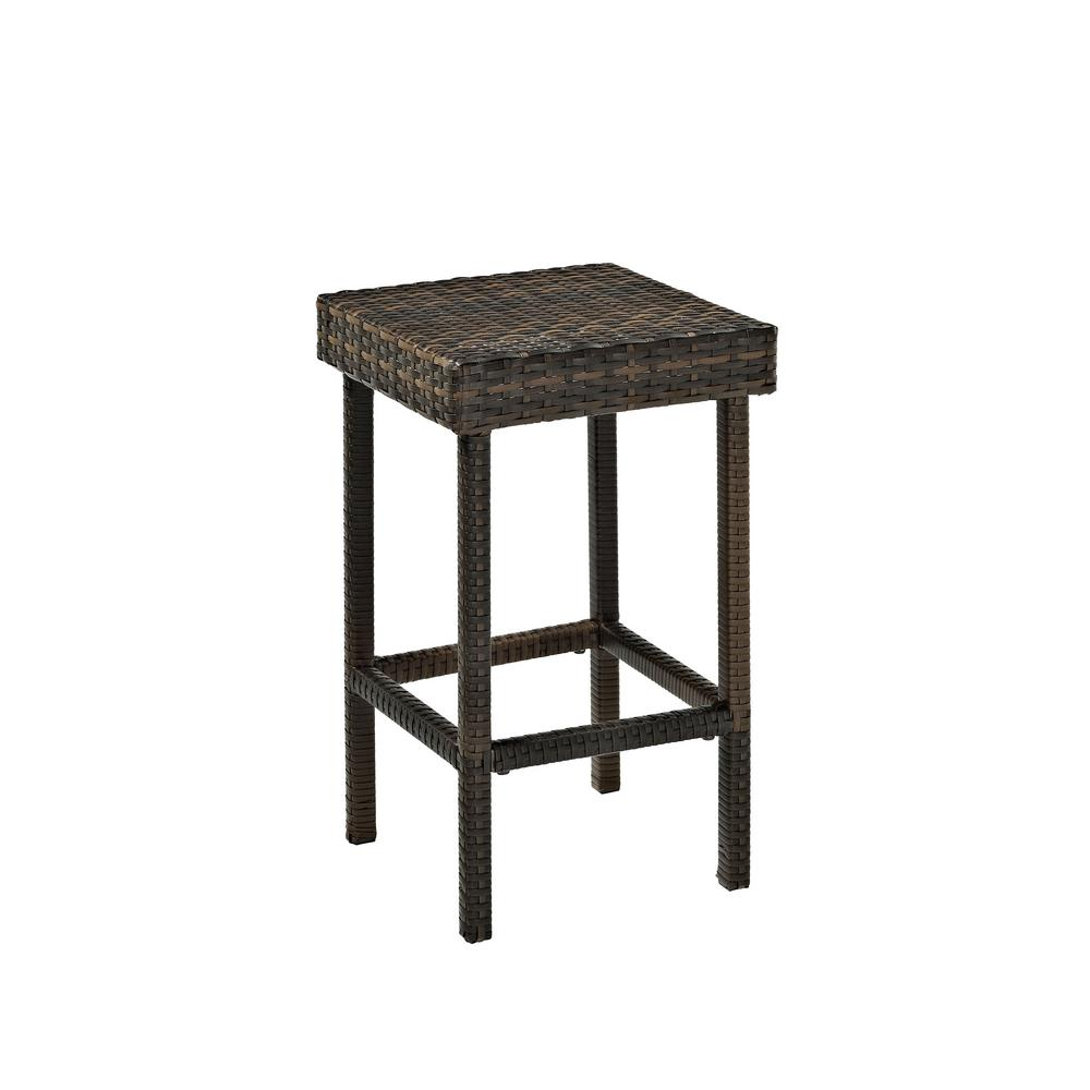 Crosley Wicker Outdoor Bar Stool Palm Harbor (2-pack)