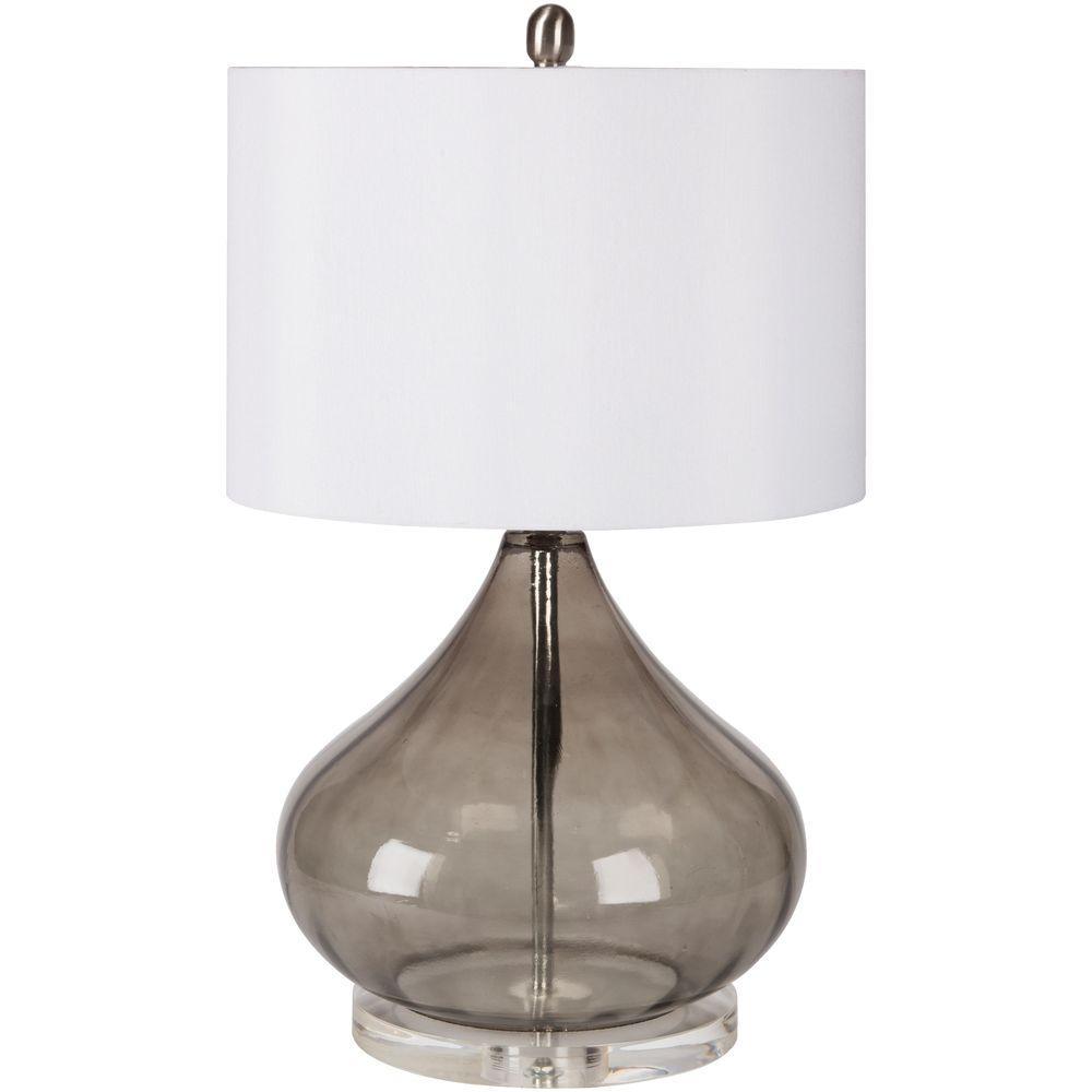 Transparent Smoke Indoor Table Lamp
