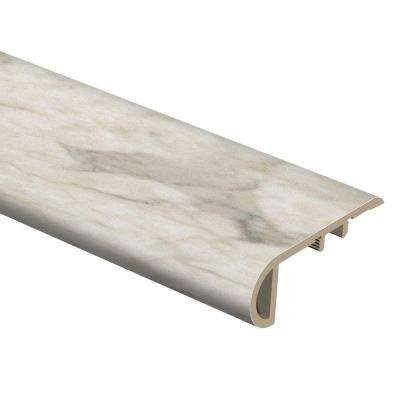 Livorno Onyx 3/4 in. Thick x 2-1/8 in. Wide x 94 in. Length Vinyl Stair Nose Molding
