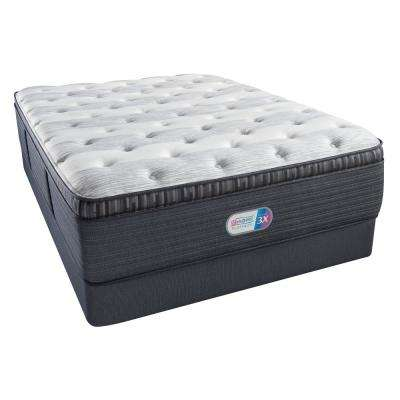Platinum Haven Pines Plush Pillow Top Cal King Mattress Set