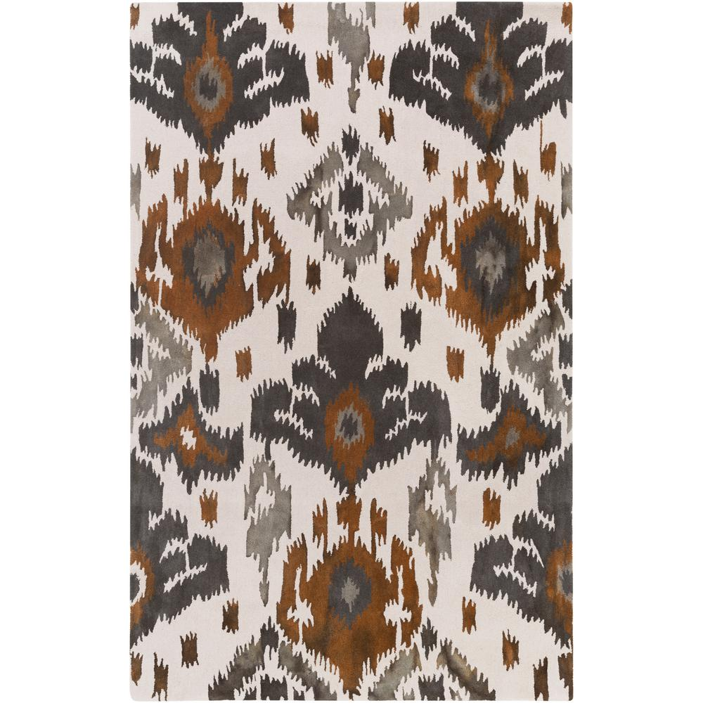 Geology Skylar Nutmeg 8 ft. x 10 ft. Indoor Area Rug