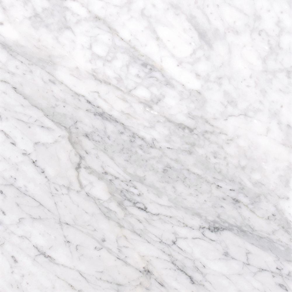 interesting black white marble bathroom floor   MSI Carrara White 12 in. x 12 in. Polished Marble Floor ...