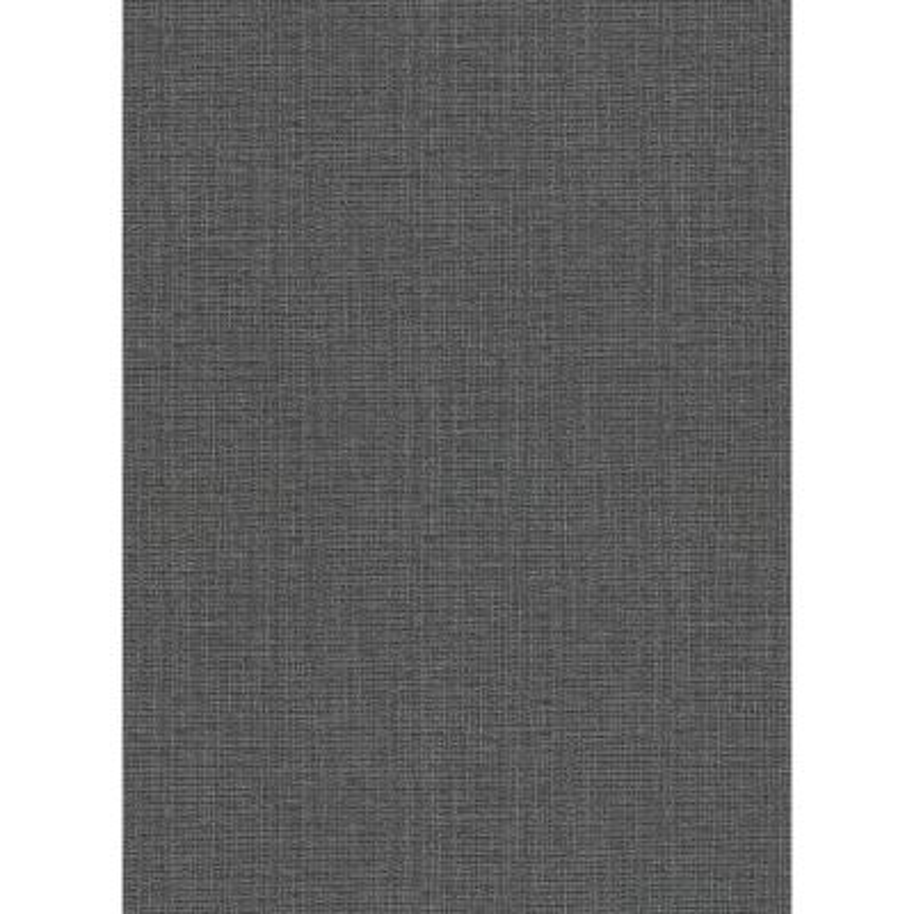 60.8 sq. ft. Claremont Charcoal Faux Grasscloth Wallpaper