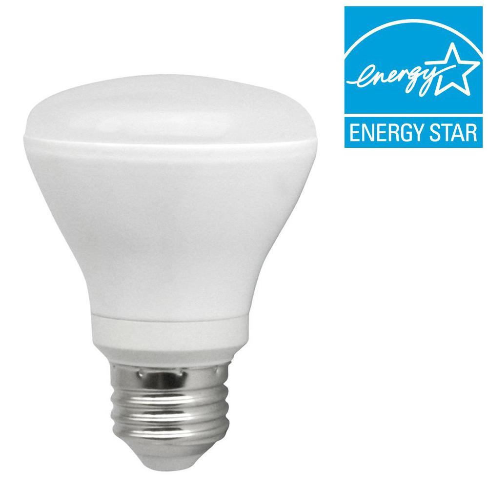 TCP 50W Equivalent Soft White (2700K) R20 LED Flood Light Bulb
