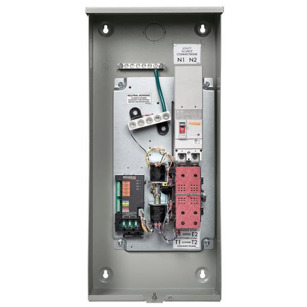 generac 200amp service rate whole house transfer switch