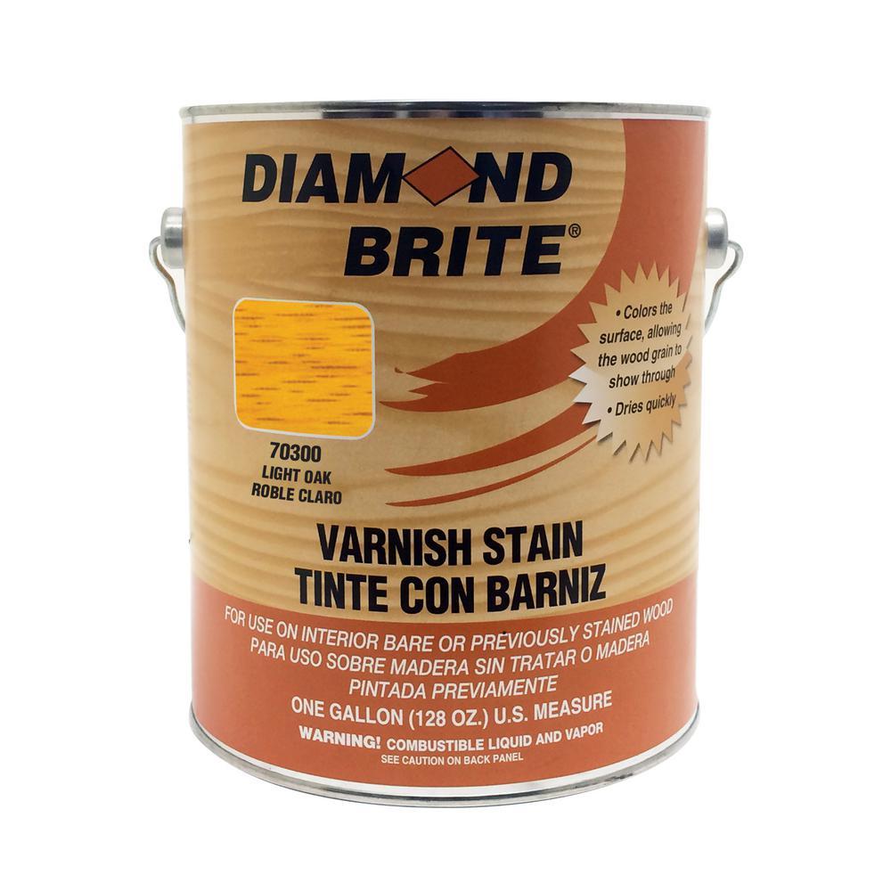 1 gal. Light Oak Oil-Based Interior Varnish Stain