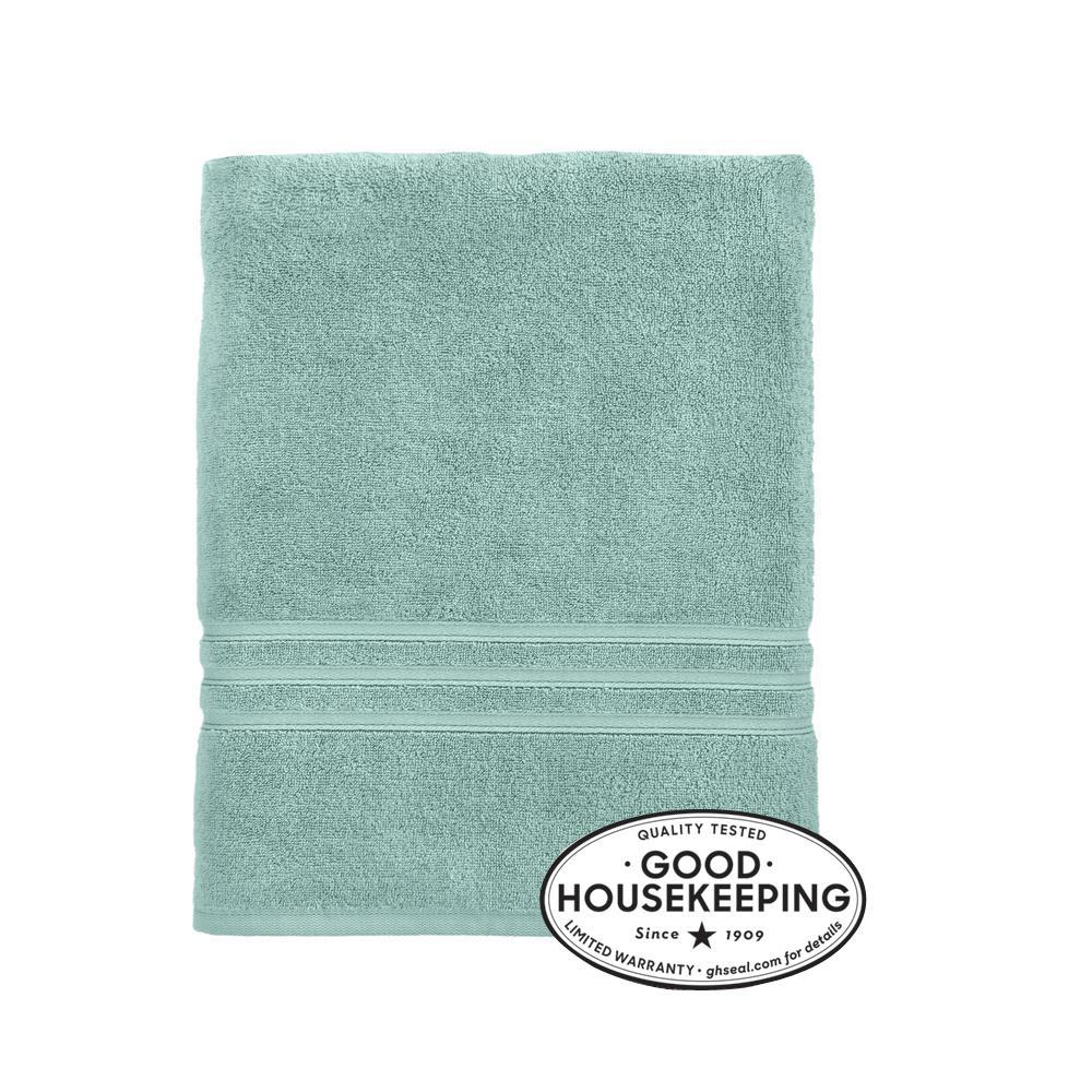 Turkish Cotton Ultra Soft Bath Sheet in Aqua