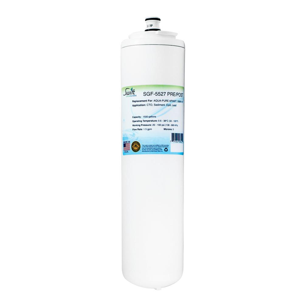 SGF-5527 pre filter Replacement Water Filter for Aqua Pure AP5527