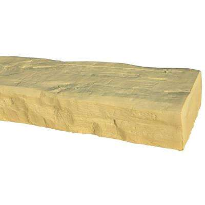 7-5/8 in. x 4-1/2 in. x 11 ft. 6 in. Unfinished Faux Wood Beam