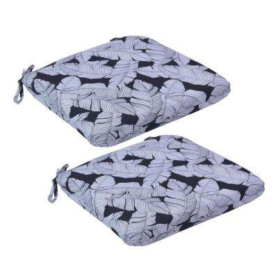 Carano Shadow Trapezoid Outdoor Seat Cushion (2-Pack)