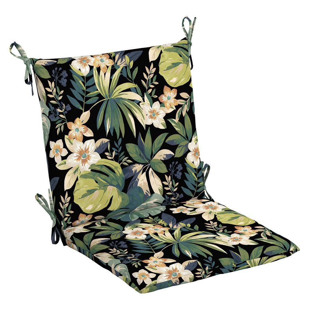 Hampton Bay 20 X 17 Outdoor Dining Chair Cushion In Olefin