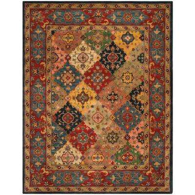 Heritage Red/Multi 9 ft. x 12 ft. Area Rug
