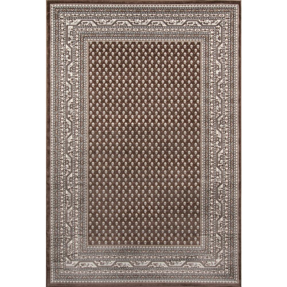 Indoor Outdoor Rugs Home Depot: Momeni Dakota Brown 2 Ft. X 3 Ft. Indoor/Outdoor Area Rug