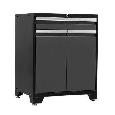 Pro 3 Series 37 in. H x 28 in. W x 22 in. D 18-Gauge Welded Steel Multifunction Cabinet in Gray