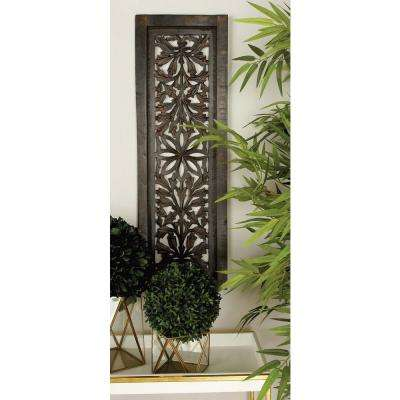 36 in. x 12 in. Traditional Decorative Wooden Wall Panel (2-Pack)