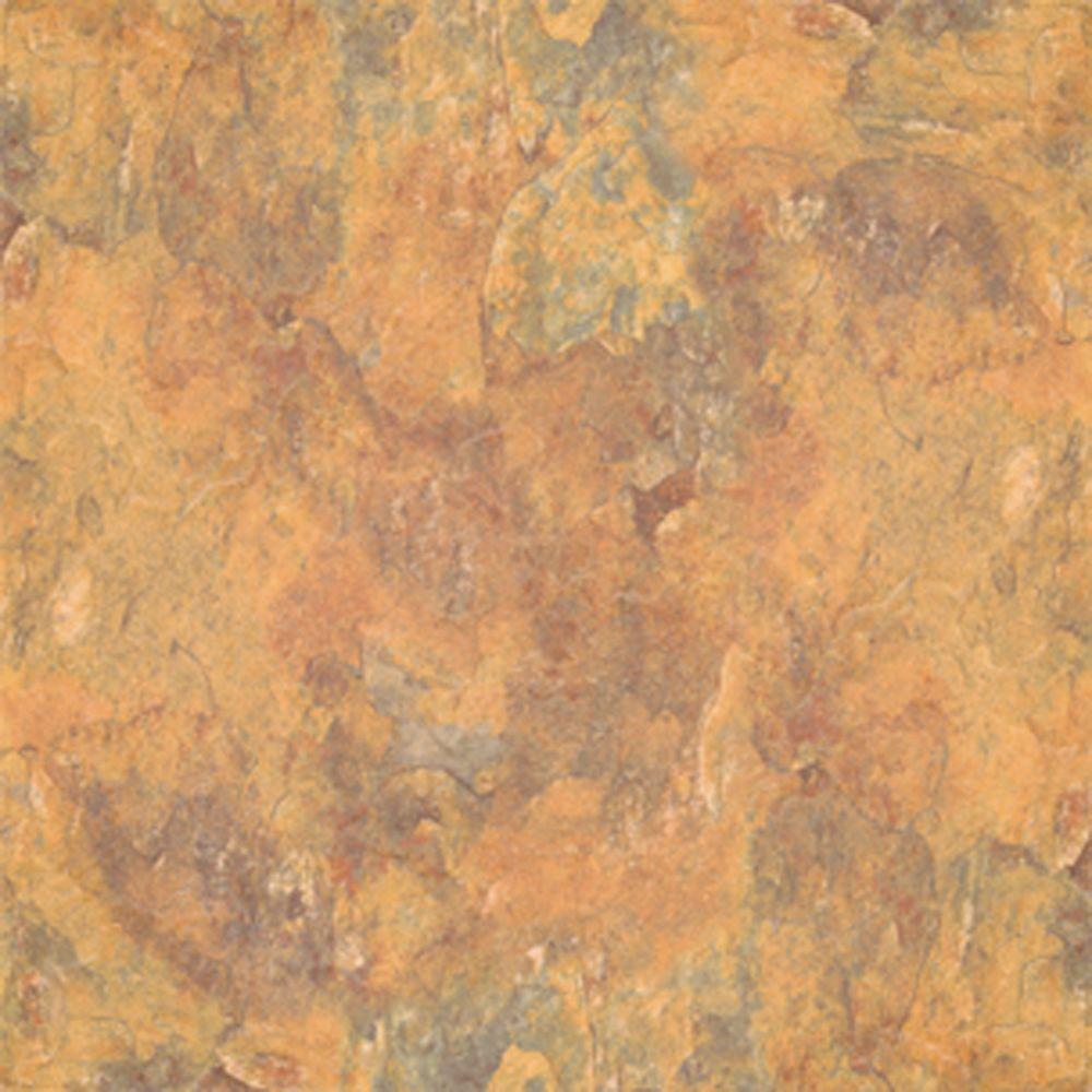 Premium 12 in. x 12 in. Morocco Slate Vinyl Tile (30 sq. ft. / case)