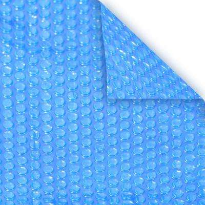 Heavy-Duty 3-Year 4 ft. x 8 ft. Rectangular Blue Solar Cover Pool Blanket
