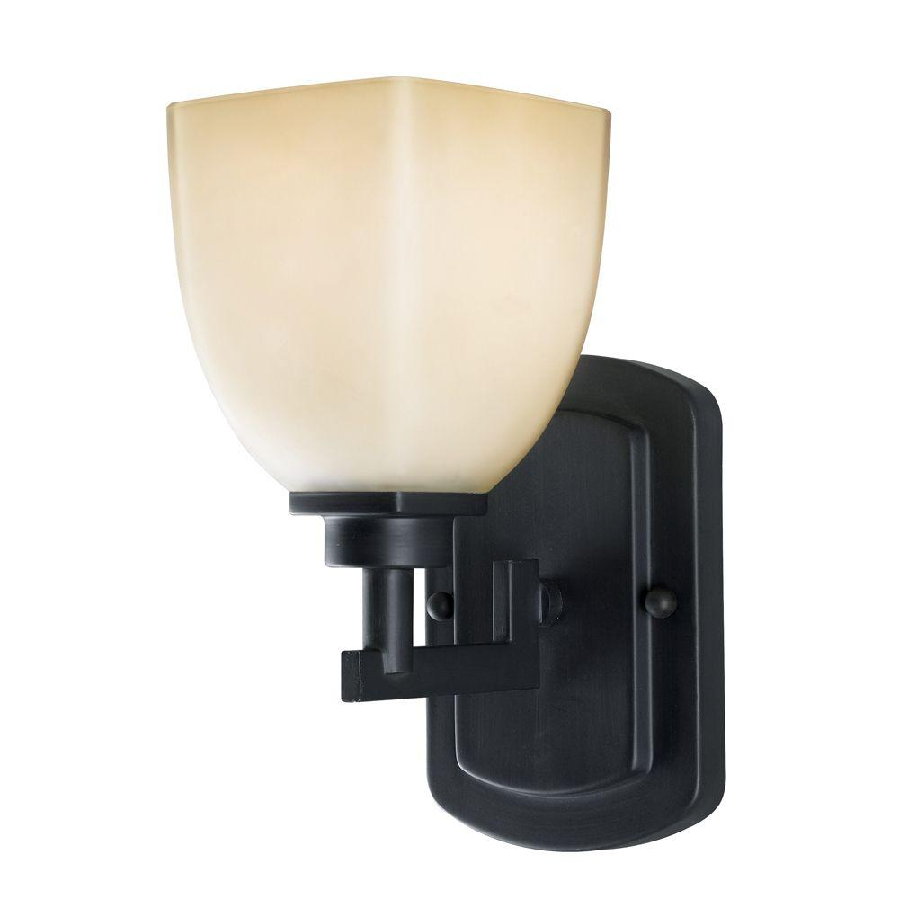 World Imports Galway 1-Light Oil Rubbed Bronze Wall Sconce