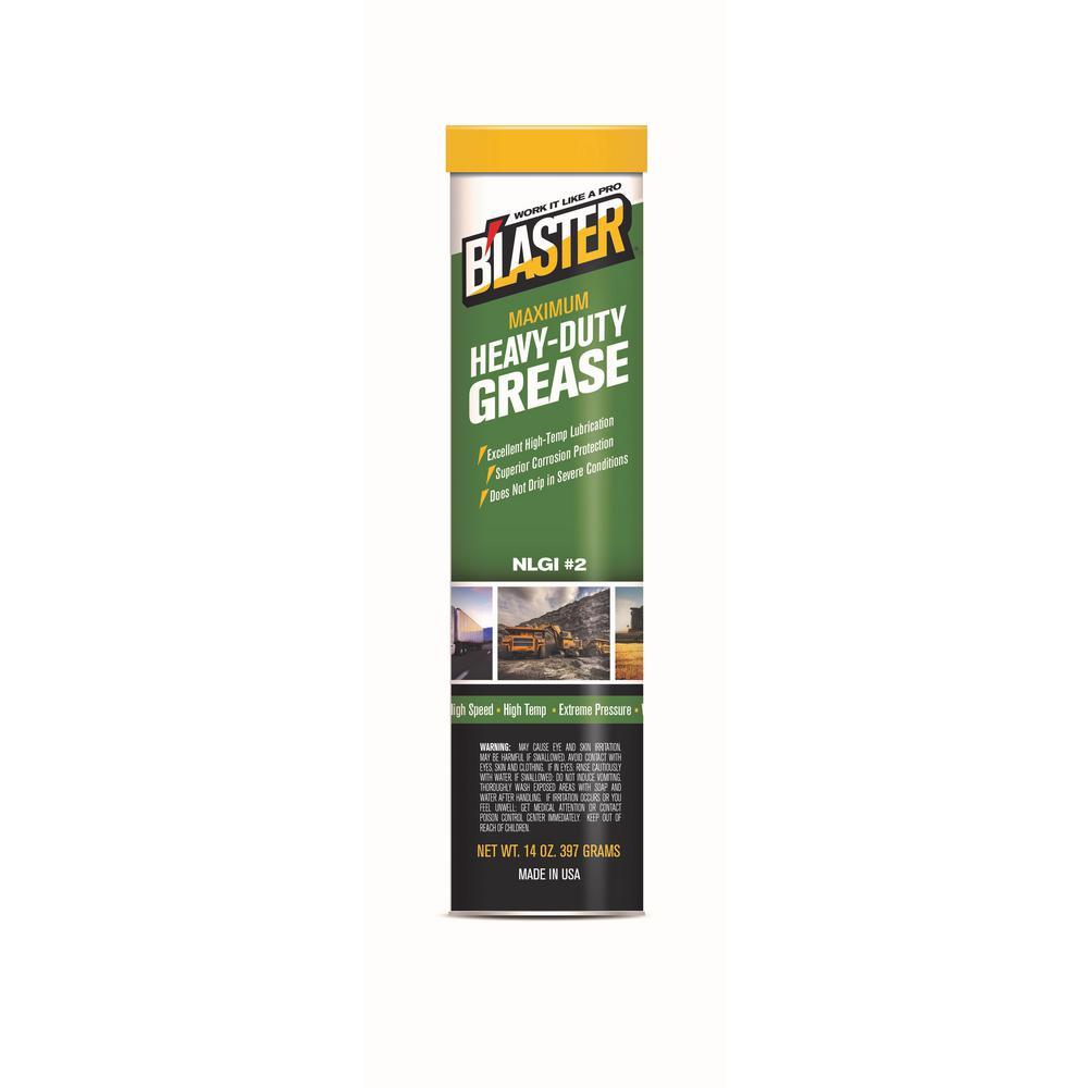 Blaster 14 oz. Maximum Heavy-Duty Grease Cartridge