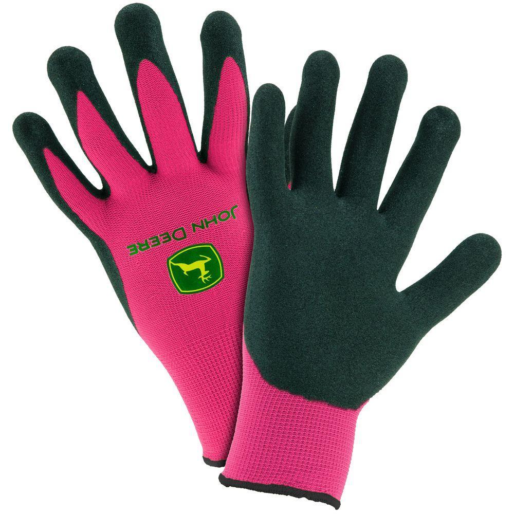 Nitrile Coated Ladies Large Grip Gloves