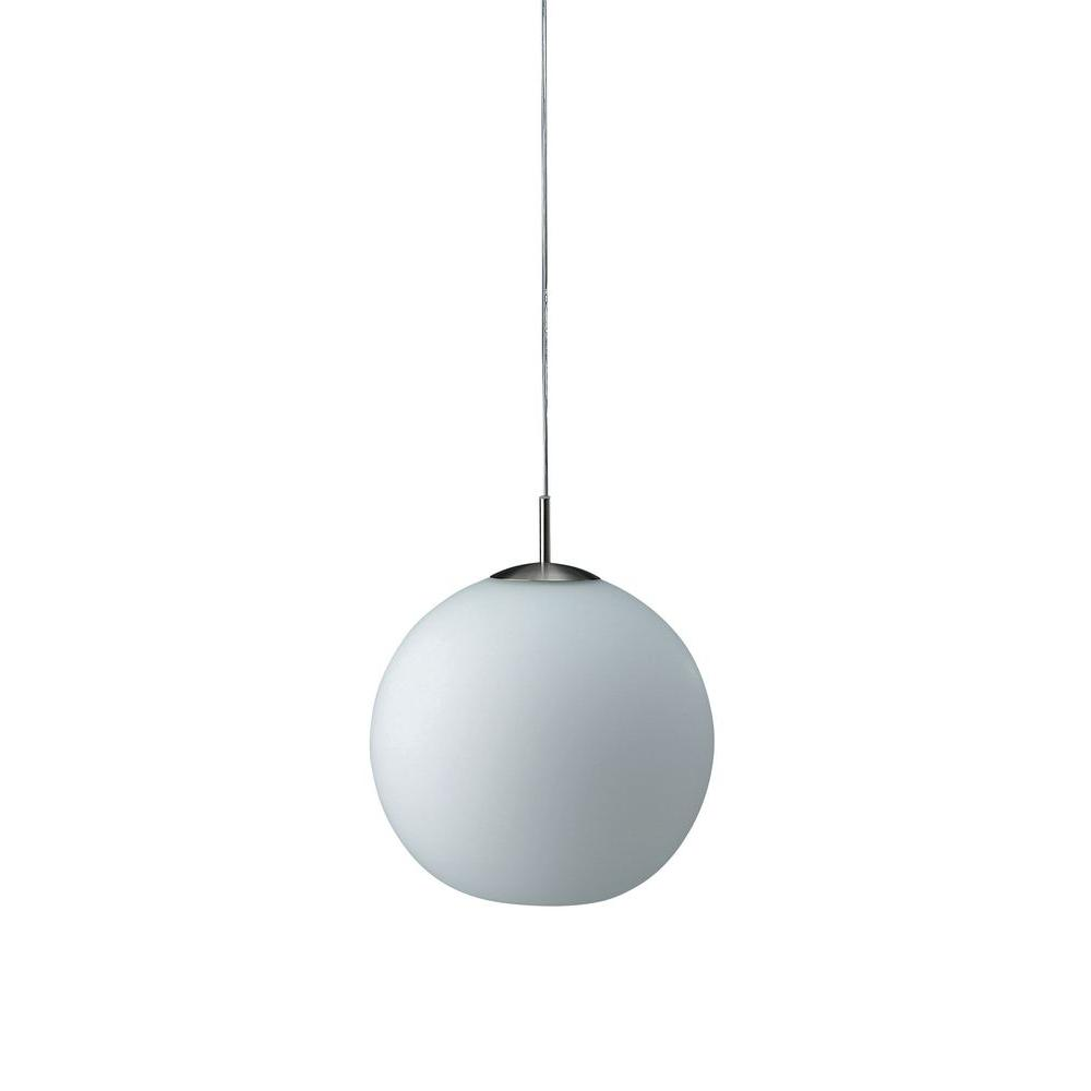 Philips rondo 1 light nickel hanging pendant 362311748 the home philips rondo 1 light nickel hanging pendant aloadofball Images