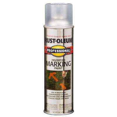 15 oz. Clear Inverted Marking Spray Paint
