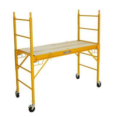 6 ft. Steel Rolling Scaffold 1000 lbs. Load Capacity