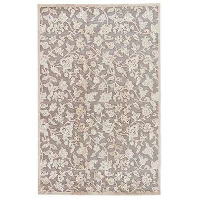 Machine Made Wild Dove 5 ft. x 8 ft. Floral Area Rug