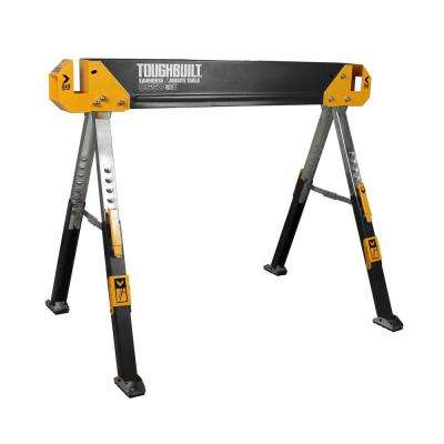 42 in. Adjustable Folding Sawhorse