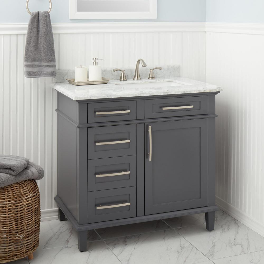 Edgewood 8 in. Widespread 2-Handle High-Arc Bathroom Faucet in Brushed Nickel
